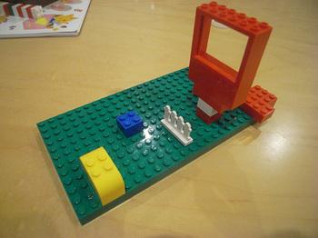 レゴで作った作品です。